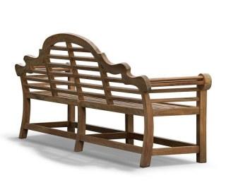 Extra Large Lutyens-Style Bench Seat