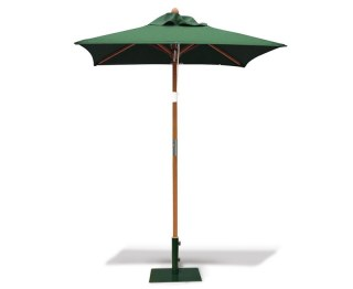 Square Green Parasol