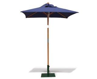 Navy Square Garden Parasol – 1.5m