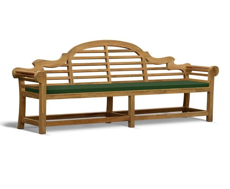 Lutyens-Style Garden Bench Cushion - 2.7m