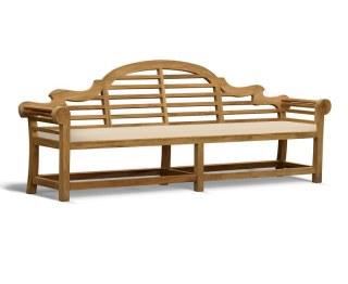Lutyens-Style garden bench cushion