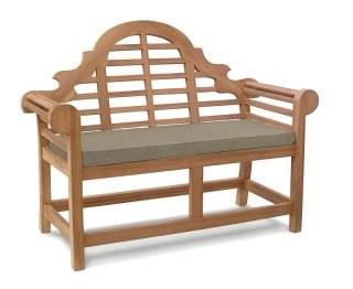 Lutyens 2 Seater Bench Cushion - Taupe