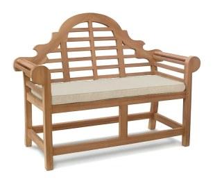 Lutyens 2 Seater Bench Cushion - Natural