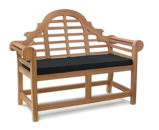 Lutyens-Style Garden Bench Cushion - 2 Seater