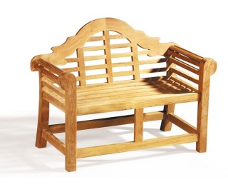 Lutyens-Style Ornate Garden Bench for Children