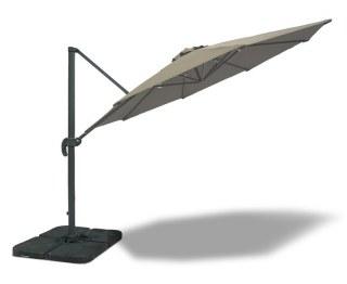Cantilever Taupe Parasol 3m