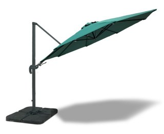 Large Umbra Cantilever Parasol 3m with Rotating Canopy
