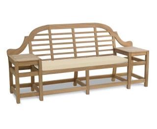Outdoor Bench Cushion to fit Cheltenham Decorative Garden Bench