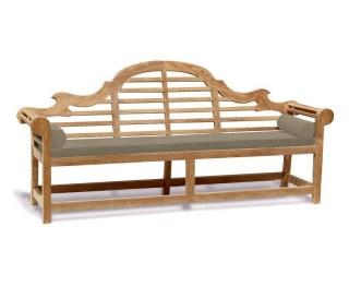 Garden Seat Cushions Bolster Set of 2