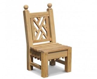 Churchill Chinoiserie Teak Garden Chair