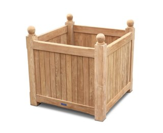 Bespoke Teak Garden Planter - Grand