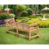 Lutyens-Style Large Decorative Outdoor Bench