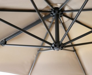Overhanging Parasol Round Canopy