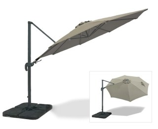 Umbra® Deluxe Large 3m Cantilever Parasol - 2-way Tilting