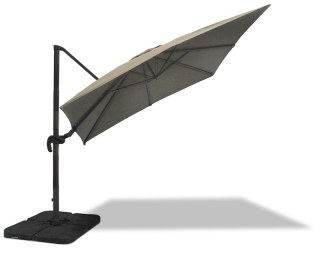 Taupe Garden Parasol Square Canopy
