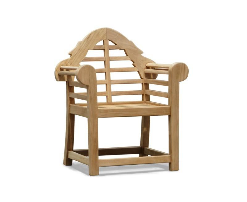 Lutyens-Style Teak Children's Armchair