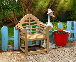 Kids Teak Garden Chair