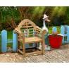 Lutyens-Style Kids Teak Garden Chair