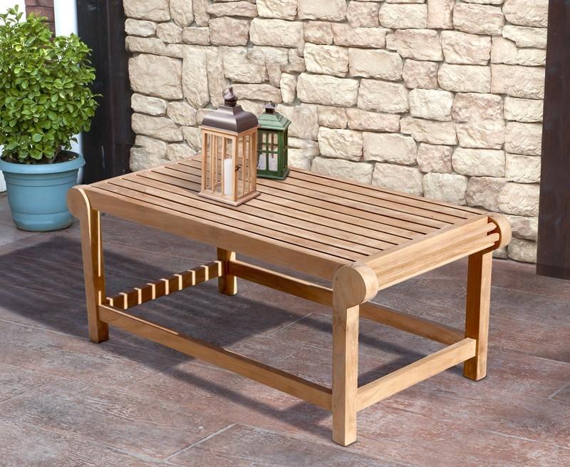 Lutyens Teak Outdoor Coffee Table