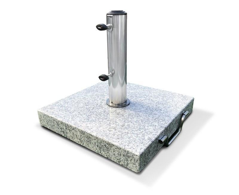 25kg Granite Square Parasol Base