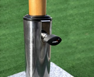 Stainless Steel Parasol Base Pole