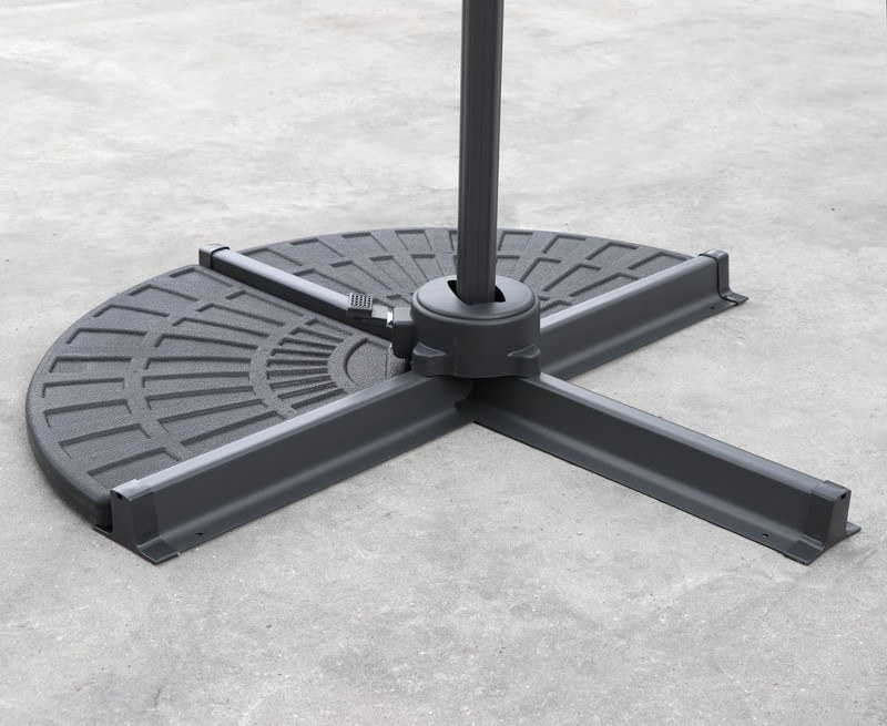 Concrete Cantilever Parasol Base Weights – 2 Pieces