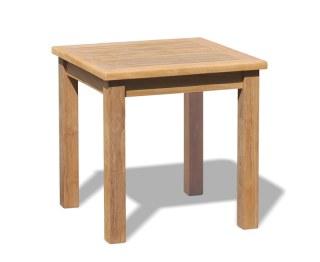 Teak Garden Side Table