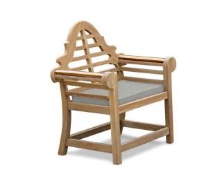 Lutyens-Style Garden Chair Cushion by Jati