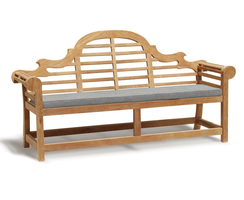 Lutyens-Style Garden Bench Cushion - 4 Seater