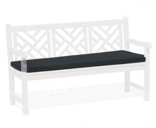 Chartwell Garden Bench Seat Pad - Black