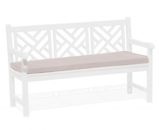 Chartwell Bench Cushion Seat Pad - Taupe