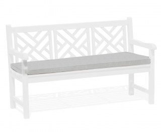 Chartwell Garden Bench Cushion Seat Pad - Grey