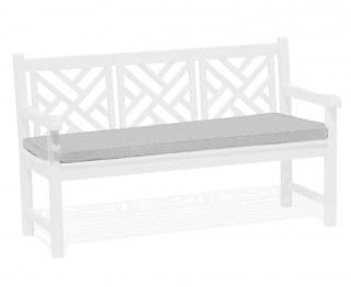 Chartwell Garden Bench Cushion Seat Pad - Grey