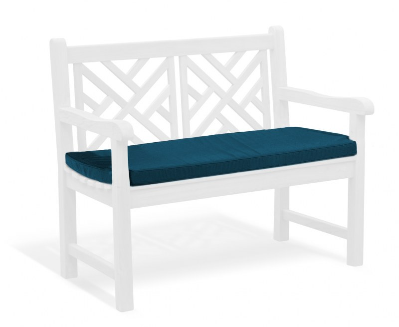 Chartwell Cushion for 2 Seater Bench - Navy