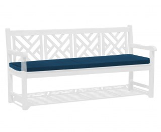Chartwell 4 Seater Bench Seat Pad - Navy