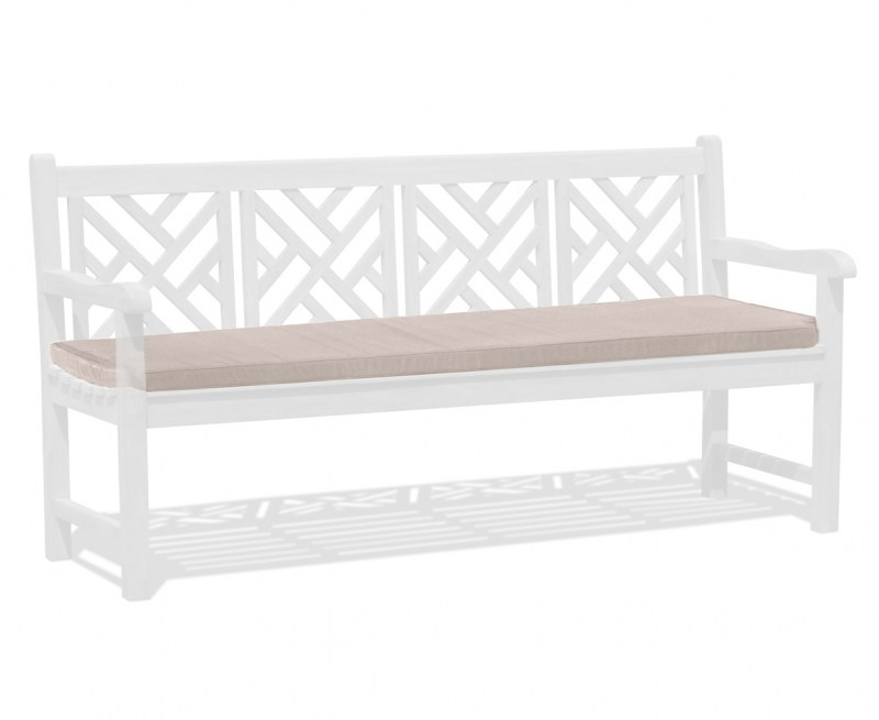 Chartwell Garden Bench Seat Pad - Taupe