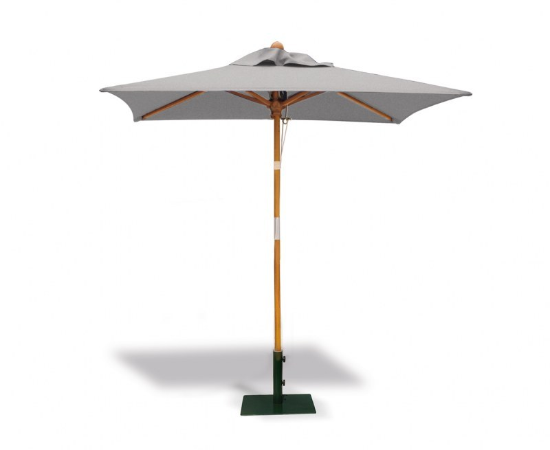 2m Tilting Square Garden Parasol