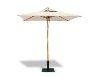 Small tilting parasol