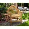 Lutyens-Style Chinoiserie Outdoor Chair Teak