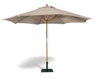 Octagonal 3.5m Wooden Parasol