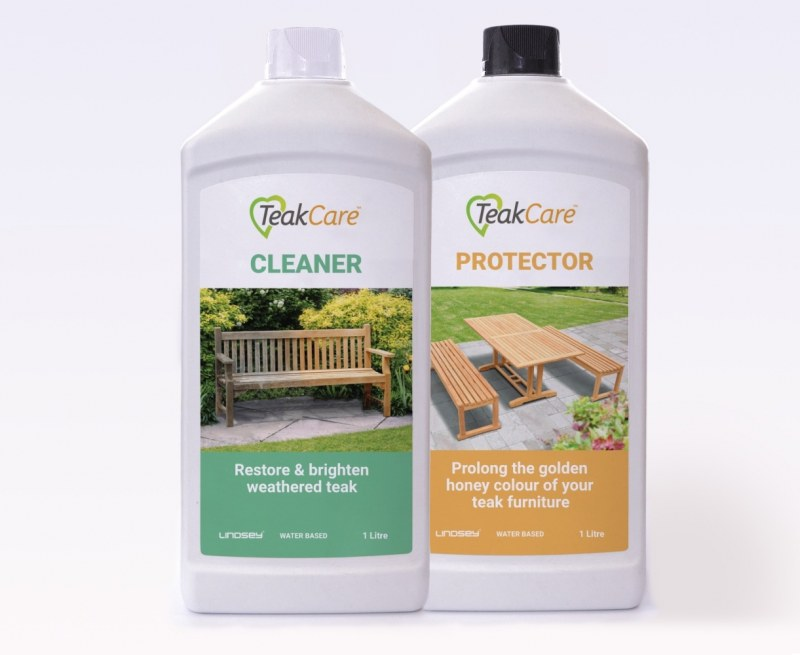 Teak Care Set - Cleaner and Protector