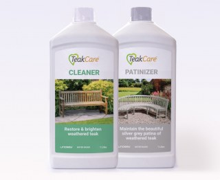 Teak Care Set - Cleaner and Patinizer