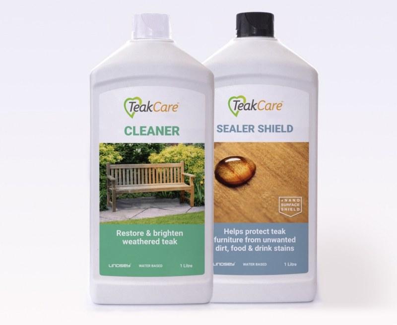 Teak Care Set - Cleaner and Sealer Shield