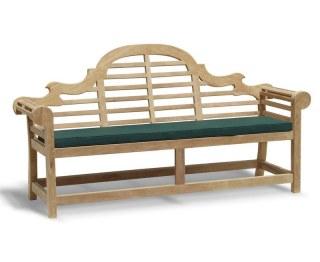 Lutyens-Style Ornate Garden Bench