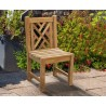 Chinoiserie Chippendale Garden Chair