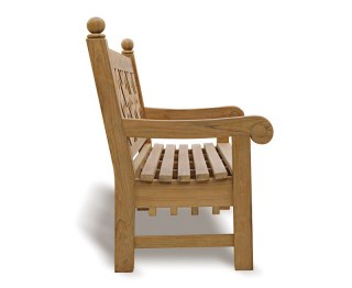 Teak 4 Seater Outdoor Bench