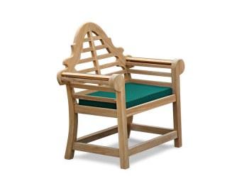 Lutyens-Style Garden Chair Cushion