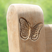 Butterfly Carving